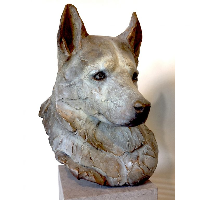 Brody, Bronze, Unique, Life-Sized