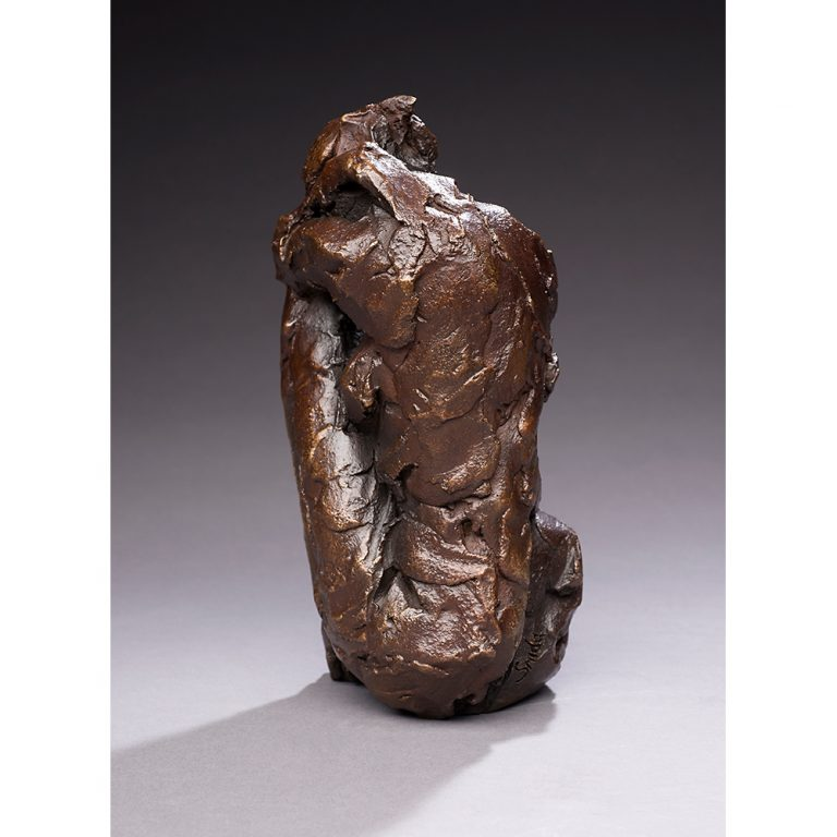 "Meditation, Bronze, Edition of 11, 9"" x 4"" x 5"""