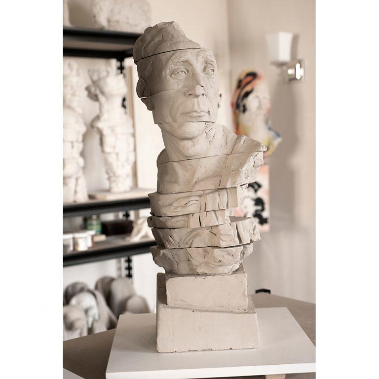 Untitled I, Water Based Clay, Life-Sized