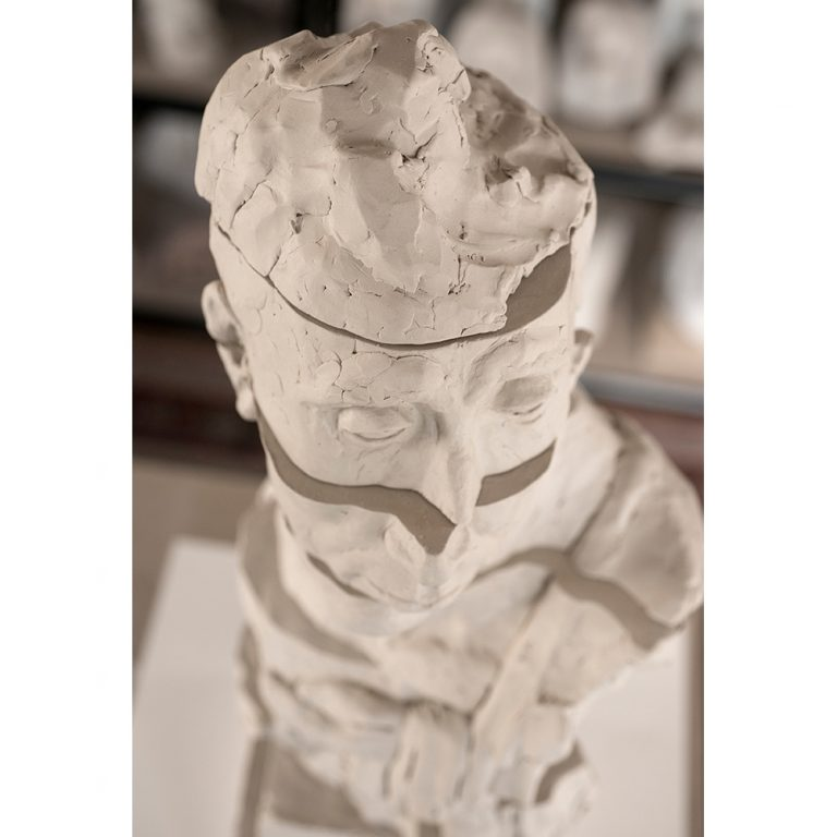 Untitled I, Water Based Clay, Life-Sized