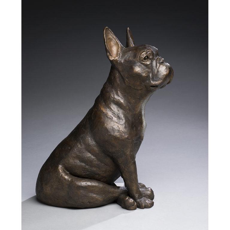 Carmine, Bronze, Unique, Life-Sized