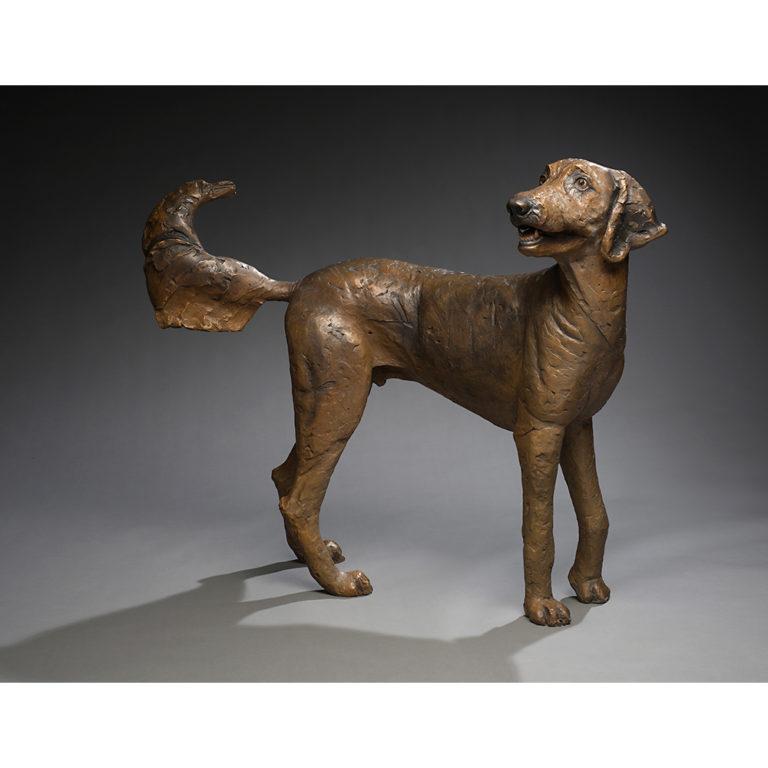 Chucho, Bronze, Unique, Life-Sized