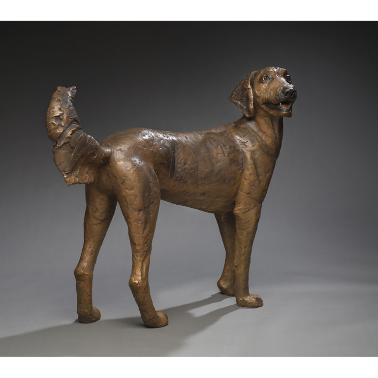 Chucho, Bronze, Unique, Life-Sized